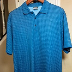 Nike drifit ESPN Deportes men's polo golf shirt XL